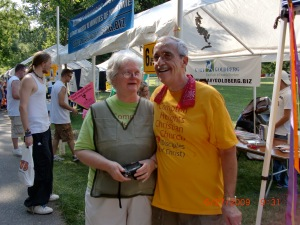 Judi and Norm always strong PrideFest supporters!