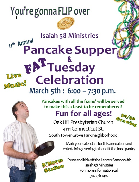 Isaiah 58 Pancake Supper